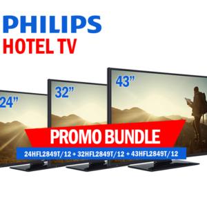 "Foto PHILIPS HOTEL TV BUNDLE 24""+32""+43"""